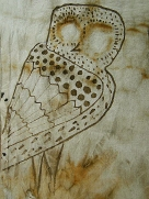 Athena's Owl Handcrafted  Edited