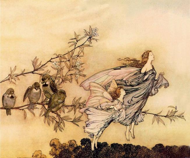 Fairy Tiffs [Arthur Rackham]