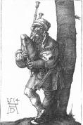 The Bagpiper [Albrecht Durer]