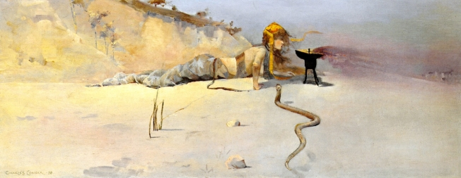 Hot Wind [Charles Conder]