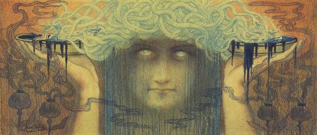 Medusa [Jean Delville, 1893]